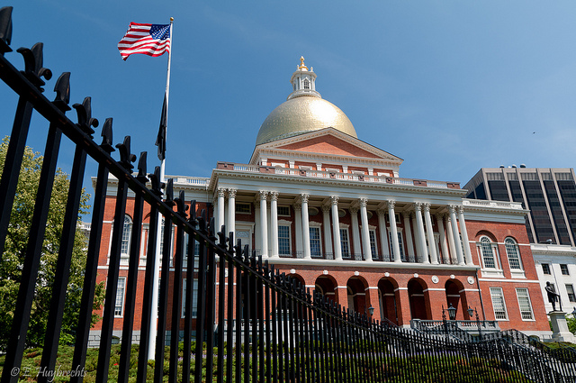 Massachusetts State House. photo by Emmanuel Huybrechts, on flickr.